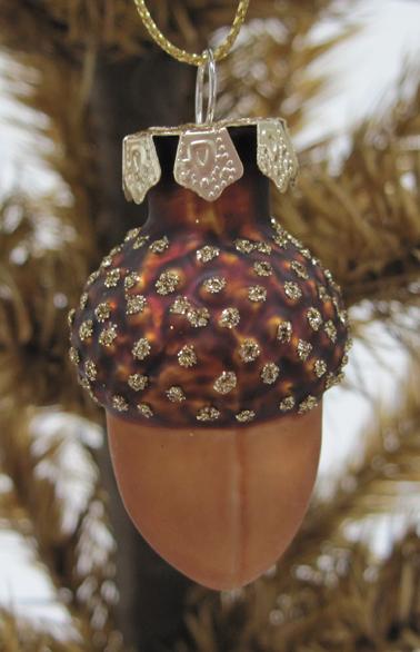 Acorn Ornaments, Set of 6