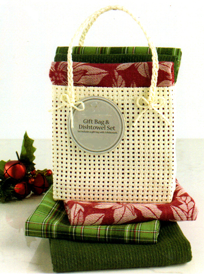 Christmas Kitchen Towels In A Bag