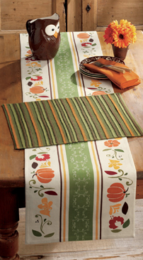 "Autumn Harvest Table Runner, 14.5"" x 72"""