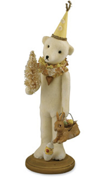 Easter Teddy, Vickie Smyers, Bethany Lowe