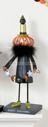Halloween Jack Pumpkin Figurine