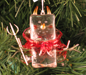 Devil Ice Fella Ornament, Halloween
