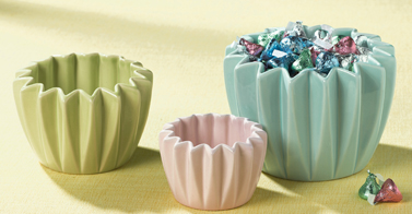 Pastel Candy Bowls, Nested, Set of 3