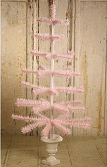Pink Feather Tree, Bethany Lowe