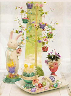 Spring & Easter Flower Tree