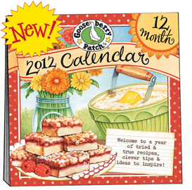 Gooseberry Patch 2012 Wall Calendar, Free Shipping!!