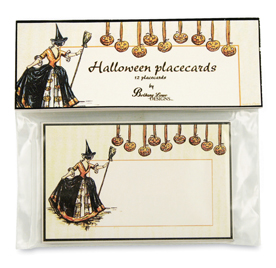 Halloween Witch Place Cards,  Bethany Lowe, Set of 12