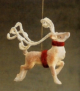 Reindeer Ornament, Christmas