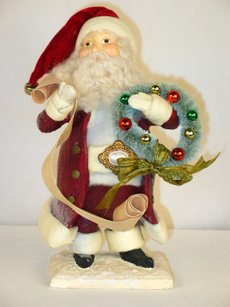 Santa Claus With List, Christmas