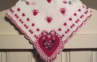 Sweetheart's Valentine Handkerchief